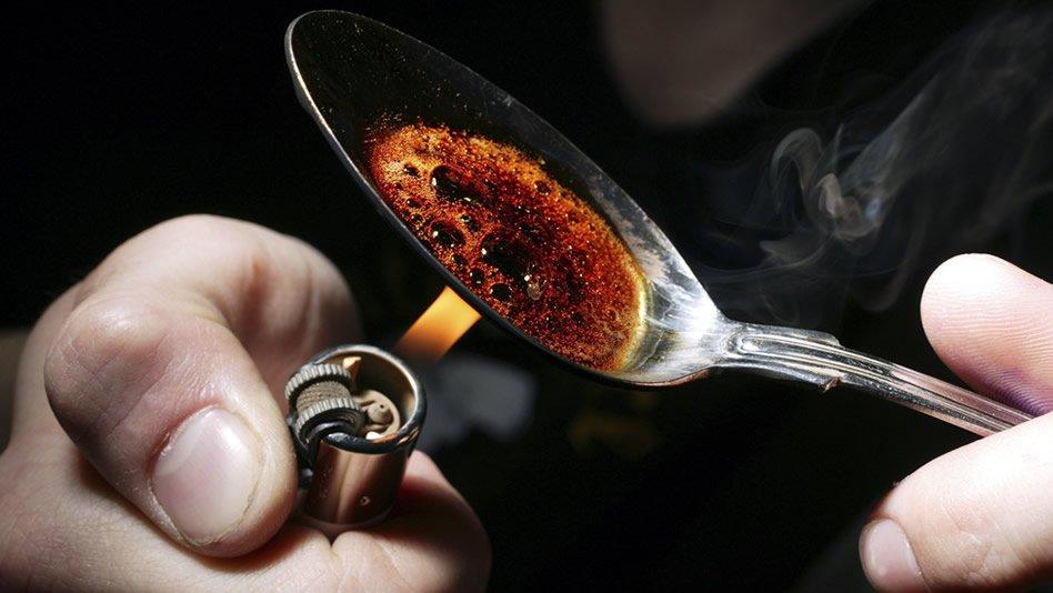 Resultado de imagem para Heroína